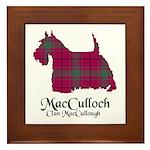 Terrier-MacCulloch.MacCullough Framed Tile