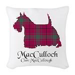 Terrier-MacCulloch.MacCullough Woven Throw Pillow