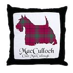 Terrier-MacCulloch.MacCullough Throw Pillow