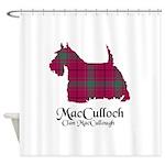 Terrier-MacCulloch.MacCullough Shower Curtain