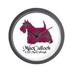 Terrier-MacCulloch.MacCullough Wall Clock