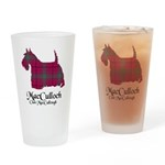 Terrier-MacCulloch.MacCullough Drinking Glass