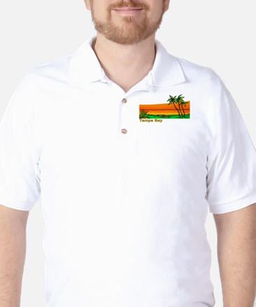 Tampa Bay, Florida Golf Shirt