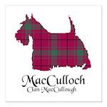 Terrier-MacCulloch.MacCu Square Car Magnet 3