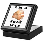 Sole Man Keepsake Box