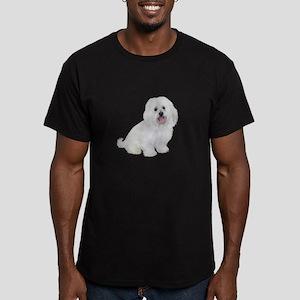 Havanese (W1) Men's Fitted T-Shirt (dark)
