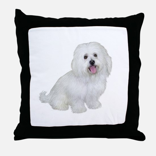 Havanese (W1) Throw Pillow