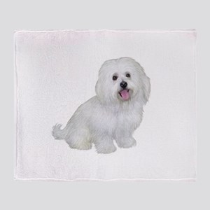 Havanese (W1) Throw Blanket