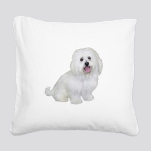 Havanese (W1) Square Canvas Pillow