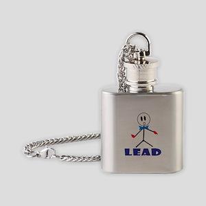 QUARTET LEAD Flask Necklace