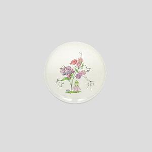 April Mini Button
