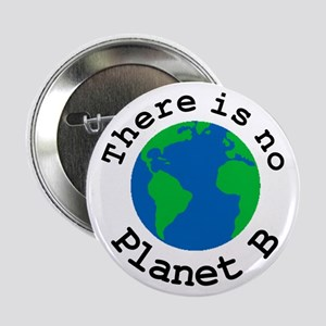 """There is no Planet B 2.25"""" Button"""