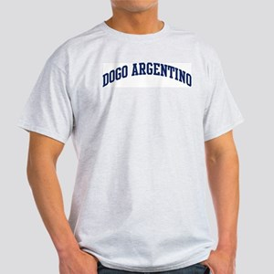 Dogo Argentino (blue) Light T-Shirt