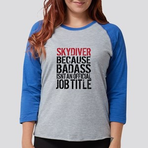 Badass Skydiver Long Sleeve T-Shirt