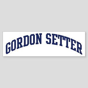 Gordon Setter (blue) Bumper Sticker