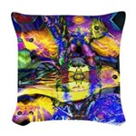 Nature Reflections II Woven Throw Pillow