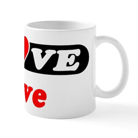 I Love Dave Mug
