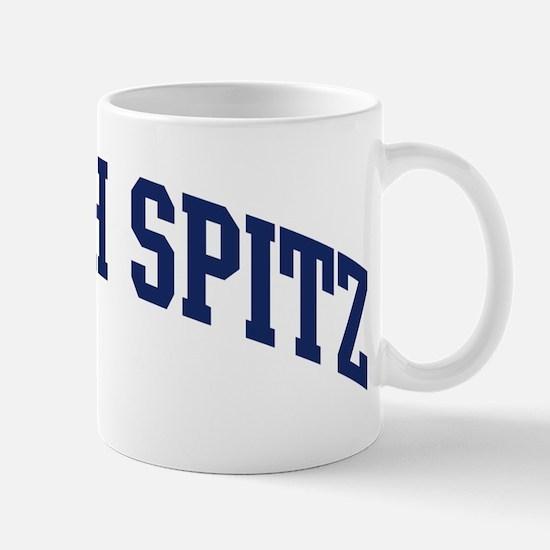 Finnish Spitz (blue) Mug