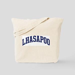 Lhasapoo (blue) Tote Bag
