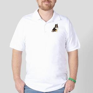 Collie (dark sable) Golf Shirt
