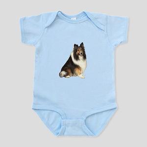 Collie (dark sable) Infant Bodysuit