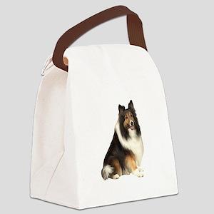 Collie (dark sable) Canvas Lunch Bag