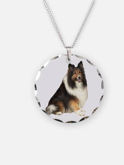 Collie (dark sable) Necklace