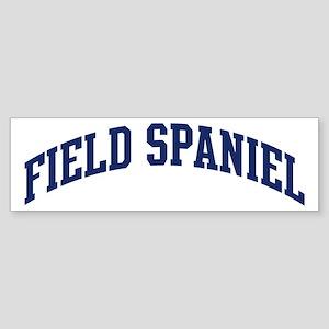 Field Spaniel (blue) Bumper Sticker