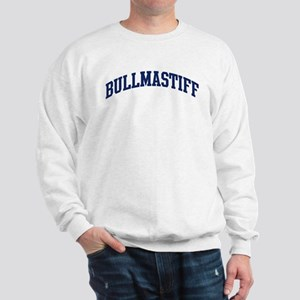 Bullmastiff (blue) Sweatshirt
