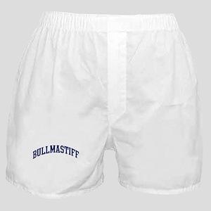 Bullmastiff (blue) Boxer Shorts