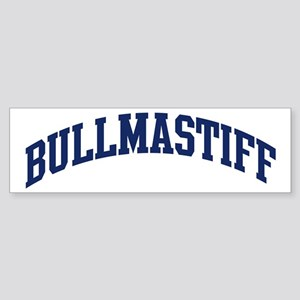 Bullmastiff (blue) Bumper Sticker