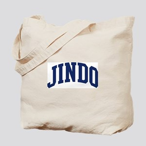 Jindo (blue) Tote Bag