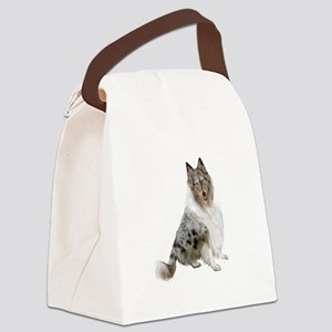 Collie (blue merle) Canvas Lunch Bag