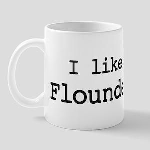 I like Flounder Mug