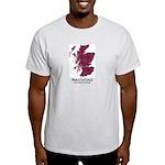 Map-MacCulloch.MacCullough Light T-Shirt