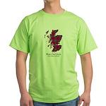 Map-MacCulloch.MacCullough Green T-Shirt