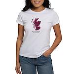 Map-MacCulloch.MacCu Women's Classic White T-Shirt