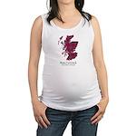 Map-MacCulloch.MacCullough Maternity Tank Top