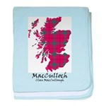 Map-MacCulloch.MacCullough baby blanket