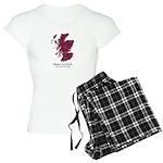 Map-MacCulloch.MacCullough Women's Light Pajamas
