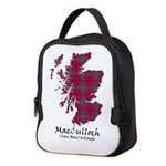 Map-MacCulloch.MacCullough Neoprene Lunch Bag