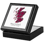 Map-MacCulloch.MacCullough Keepsake Box