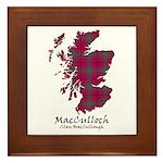 Map-MacCulloch.MacCullough Framed Tile