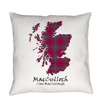 Map-MacCulloch.MacCullough Everyday Pillow