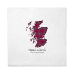 Map-MacCulloch.MacCullough Queen Duvet