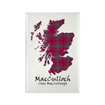 Map-MacCulloch.MacCullo Rectangle Magnet (10 pack)
