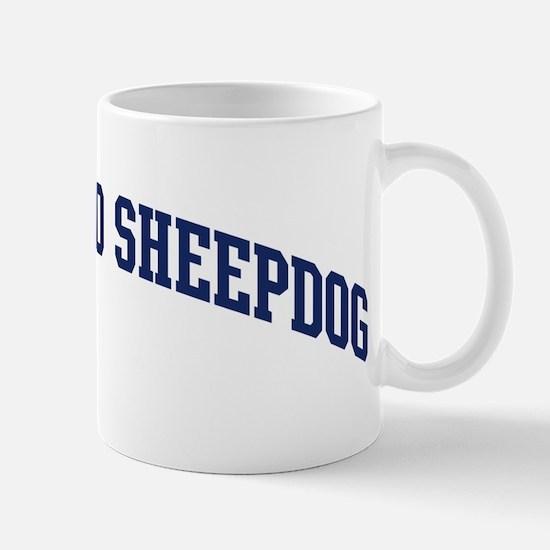 Bergamasco Sheepdog (blue) Mug