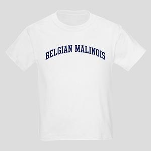 Belgian Malinois (blue) Kids Light T-Shirt