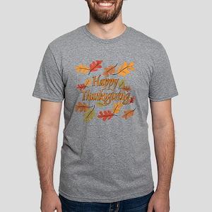 Happy Thanksgiving Mens Tri-blend T-Shirt