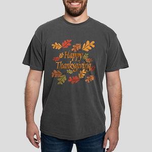 Happy Thanksgiving Mens Comfort Colors T-Shirt